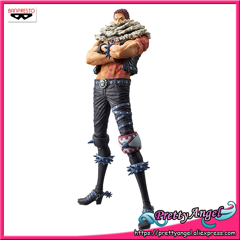 PrettyAngel - Genuine Banpresto KING OF ARTIST <font><b>ONE</b></font> <font><b>PIECE</b></font> Charlotte <font><b>Katakuri</b></font> Collection <font><b>Figure</b></font> image