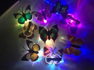 Image 5 - 女の子女性 led 点滅蝶のヘアピングローイングヘアクリップヘッドドレス誕生日パーティーホームクリスマスウエディングデコレーション