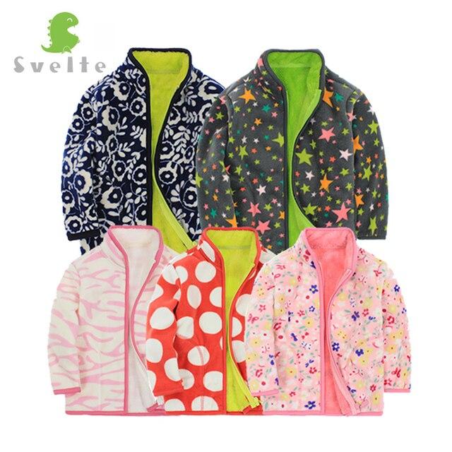 Svelte Brand Autumn and Winter kids Fur Coats boys Zipper Solid Kids Jackets fashion Thick Fleece warm outerwear Coat Enfant