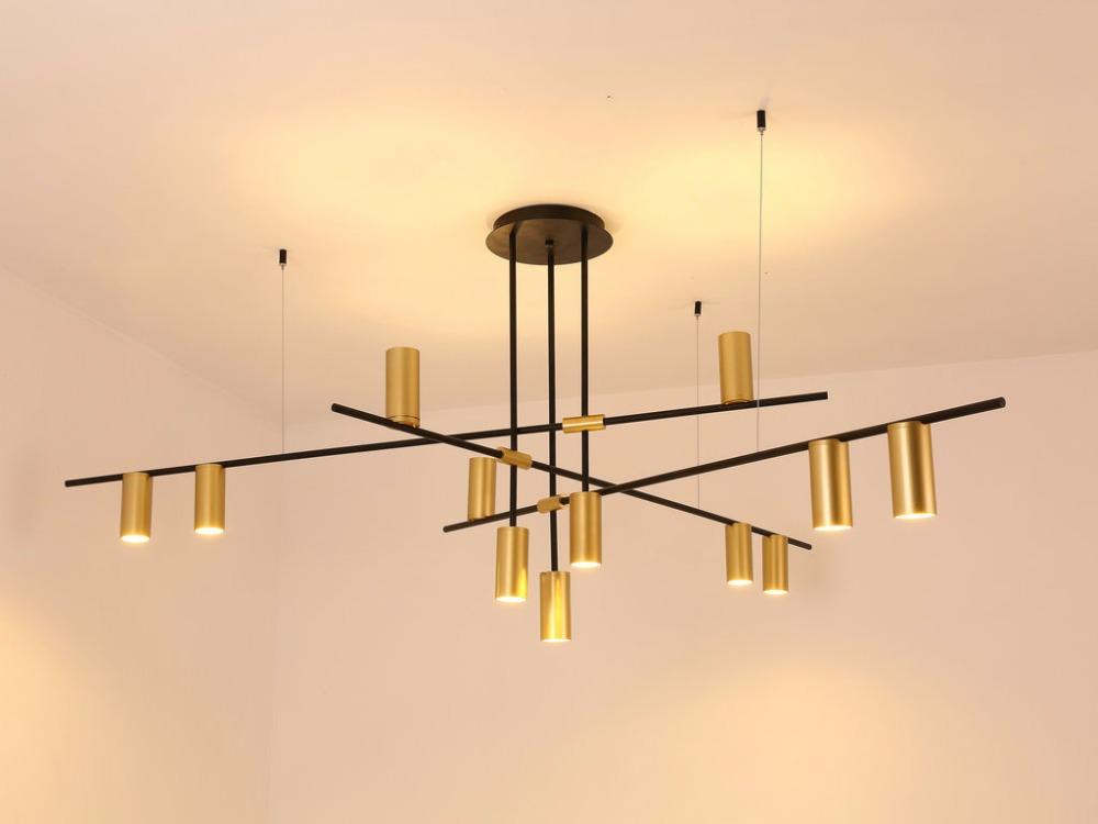 Nordic modern gold led pendant lights bedroom dinning room kitchen