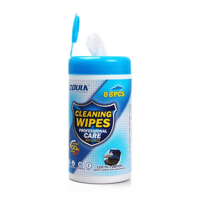 1 Box Soft Laptop Computer Monitor LCD Phone Screen Lens Cleaning Wipes