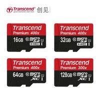 Transcend Micro SD Card 128GB 64GB 32GB 16GB High Speed 60MB S UHS I 400X MicroSD