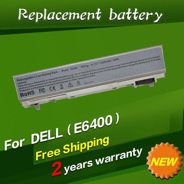 Jigu substituição da bateria do portátil para dell latitude e6400 precision m2400 m4400 u844g nm631 pt434 ky477 ky265 c719r 451-10583