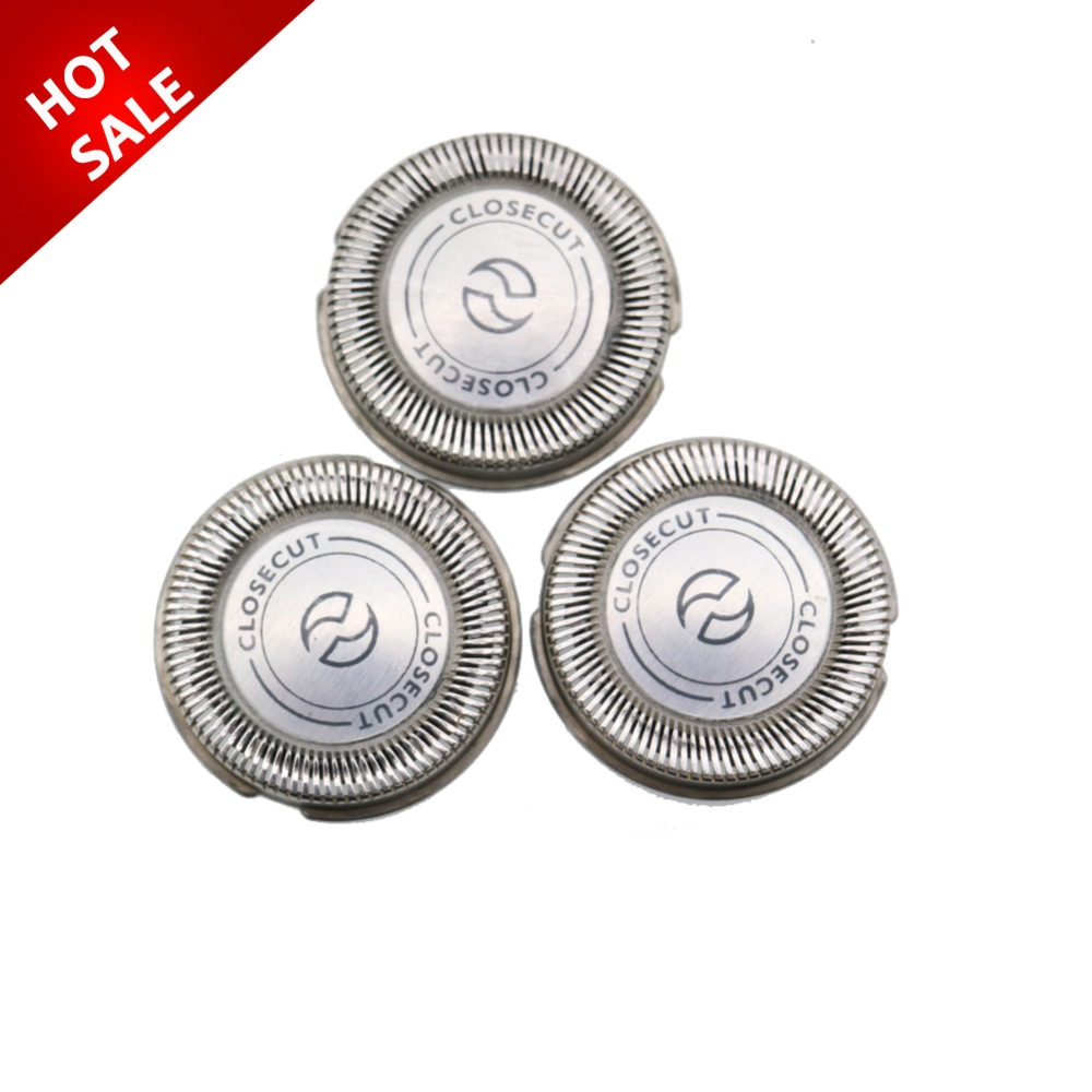 3pcs/lot <font><b>Replacement</b></font> Shaver <font><b>Head</b></font> for <font><b>philips</b></font> HQ56 <font><b>HQ55</b></font> HQ4+ HQ3 Reflex Plus HQ6843 HQ300 HQ64 HQ916 CloseCut Shaver <font><b>Heads</b></font> image