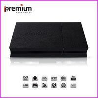 Ipremium I9 Pro 4 К Android Tv Box Декодер каналов кабельного телевидения рецепторов декодер с DVB S2 DVB T2 DVB C функции