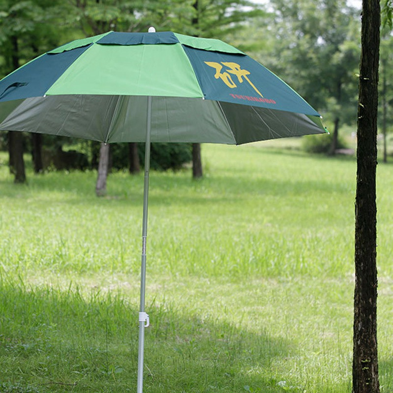 Patio Furniture Lightweight Patio Umbrellas Windproof Garden Umbrella Three-folding Sunshade Rainproof Fishing Umbrella 2 7 m outdoor umbrellas patio umbrella column banana straight with a hand of iron