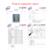 4 Colores Cubierta de Asiento de Coche diseñado Específicamente para Hyundai ix35 (2010-2016) cuero de la pu artificial Car Styling accesorios del coche