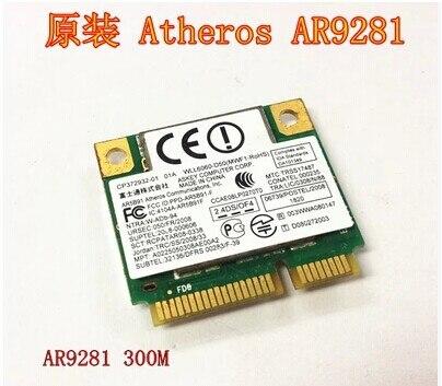 Atheros AR5009 AR9281 AR5B91 Half Mini PCI-e WLAN Wifi Wireless Card
