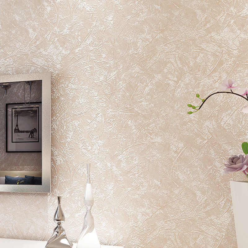 Moderne Effen Kleur Behang Home Decor Woonkamer Decoratie Grijs Beige Wallpapers Roll voor Muren Deco Mural Contact Papier