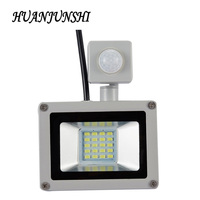 LED PIR Motion Sensor Floodlight 20W Waterproof IP65 220V Floodlight Garden Spotlight Outdoor Wall Lamp Spotlight
