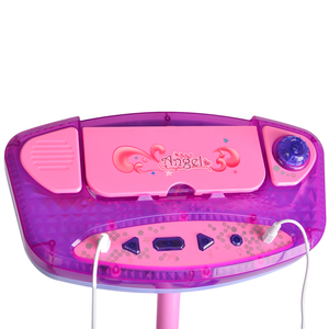 Image 5 - 키즈 여자 마이크 마이크 가라오케 노래 기계 아이 재미 있은 선물 음악 우수한 장난감 악기 크리스마스 선물 3 색