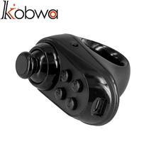 kobwa Bluetooth four.zero Wi-fi Distant Gamepad VR Distant Mini Recreation Controller Joystick For IPhone IOS Android Sensible cellphone
