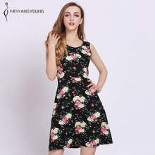 49eb6c8098a5 Women beautiful red rose floral dress casual white lily holiday female  elegant short sleeve dress plus
