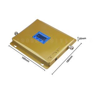 Image 4 - New Version LCD Display 2G GSM 900 4G DCS LTE 1800 Mobile Phone Repeater Cellular Signal Amplifier Repetidor Dual Band Booster