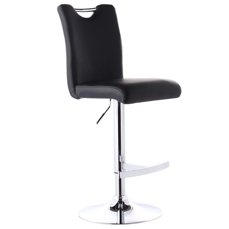 Quality Lifting Swivel Bar Chair Rotating Adjustable Height Pub Bar Stool Chair PU Material Reception/Waiting Room cadeiraQuality Lifting Swivel Bar Chair Rotating Adjustable Height Pub Bar Stool Chair PU Material Reception/Waiting Room cadeira