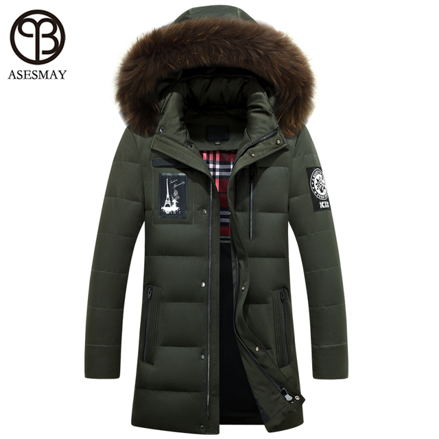bf5e6c51478f 2016 Mens winter jackets and coats young design sonw parka men duck down  pull supreme goose feather jacket snow russian hooded