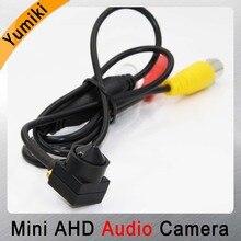 HD пули металла 1080 P SONY IMX323 AHD мини Камеры Скрытого видеонаблюдения CCTV H.264 3,7 мм объектив 2MP проводной безопасности Камера с микрофоном