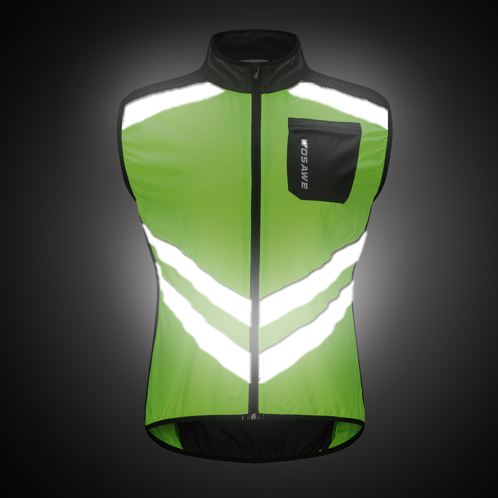 High Visibility Men's MTB Bike Sports Cycling Jackets Men's Sweaters/Coats/Jackets Outdoor Survival Tools