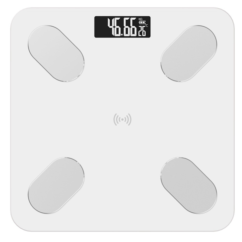 Quality Body Fat Scale Floor Scientific Smart Electronic Led Digital Weight Bathroom Scales Balance Bluetooth App Android Ios(China)