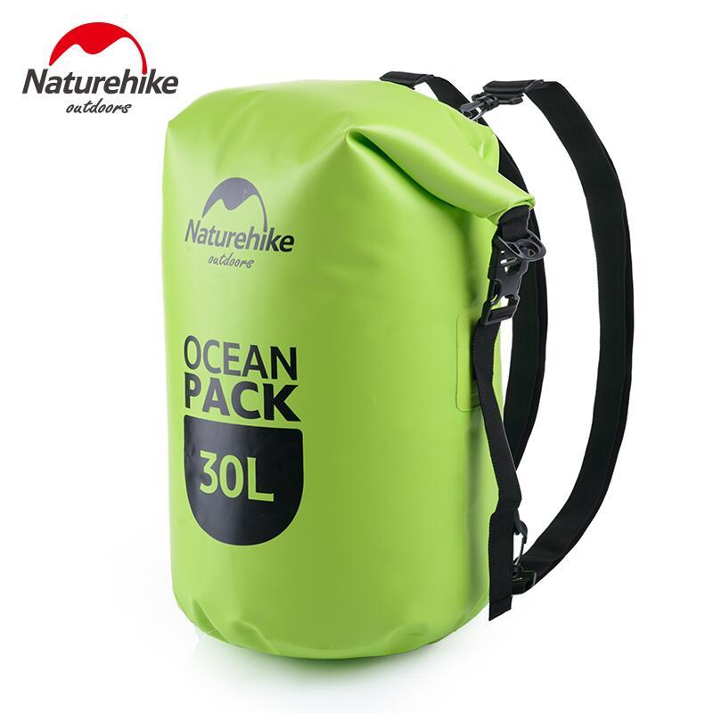 Naturehike 20L 30L Backpack Waterproof Dry Bag Beach Swimming Sack Storage Bag Outdoor Rafting Sport Bag Travel Kits Backpacks