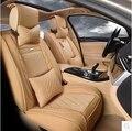 De alta qualidade! completo conjunto de tampas de assento do carro para Lexus LX 570 5 assentos 2016 respirável tampas de assento durável para LX570 2015, frete grátis