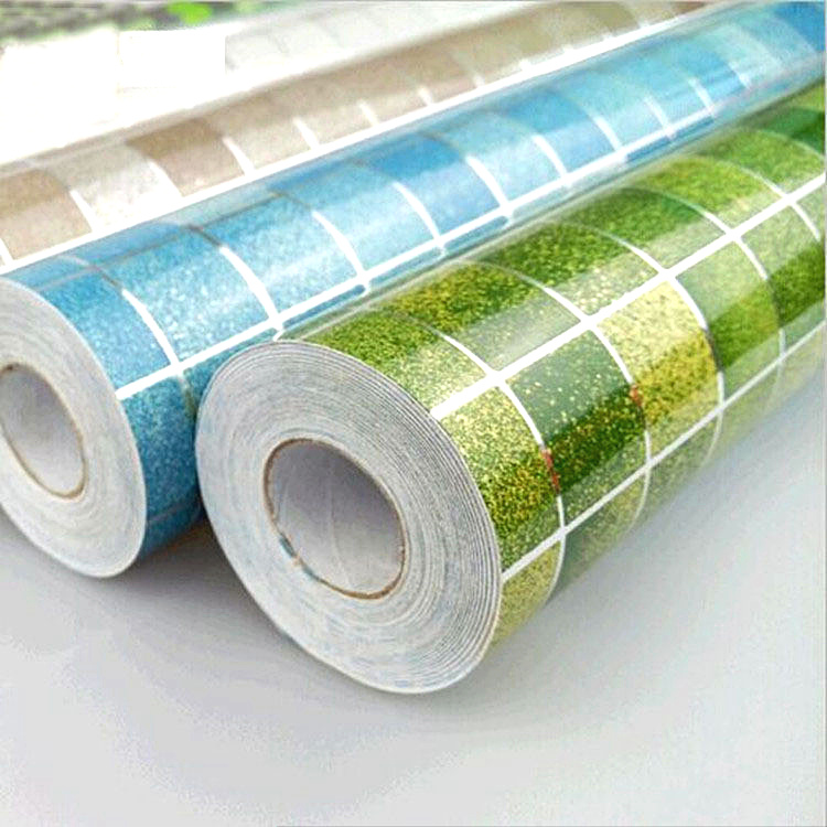 Bad wasserdichte wandaufkleber PVC mosaik fliesen tapete küche wände ...
