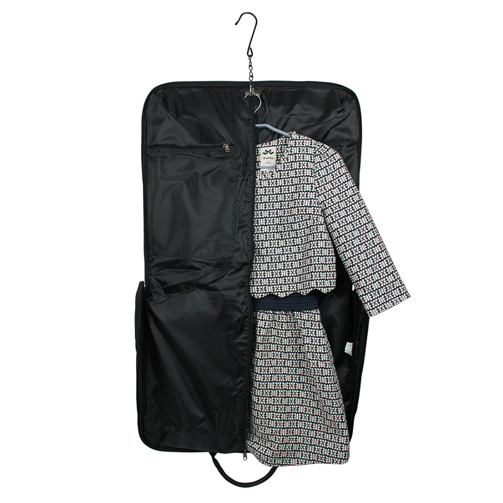 Ecosusi Travel Bag Black қара өткізбейтін ілгіш - Багаж және саяхат сөмкелері - фото 5