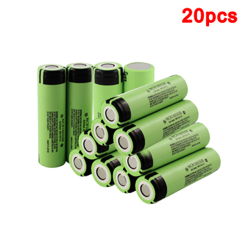 20Pcs/Lot 100% New Original NCR18650B 3.7 v 3400 mah High Quality 18650 Lithium Rechargeable Battery For Flashlight batteries