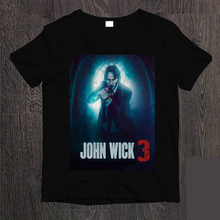 John Wick 3 Parabellum Movie 2019 T-Shirt Men High Quality Tees Top Tee Summer Short Sleeves New Fashion T Shirt Plus Size
