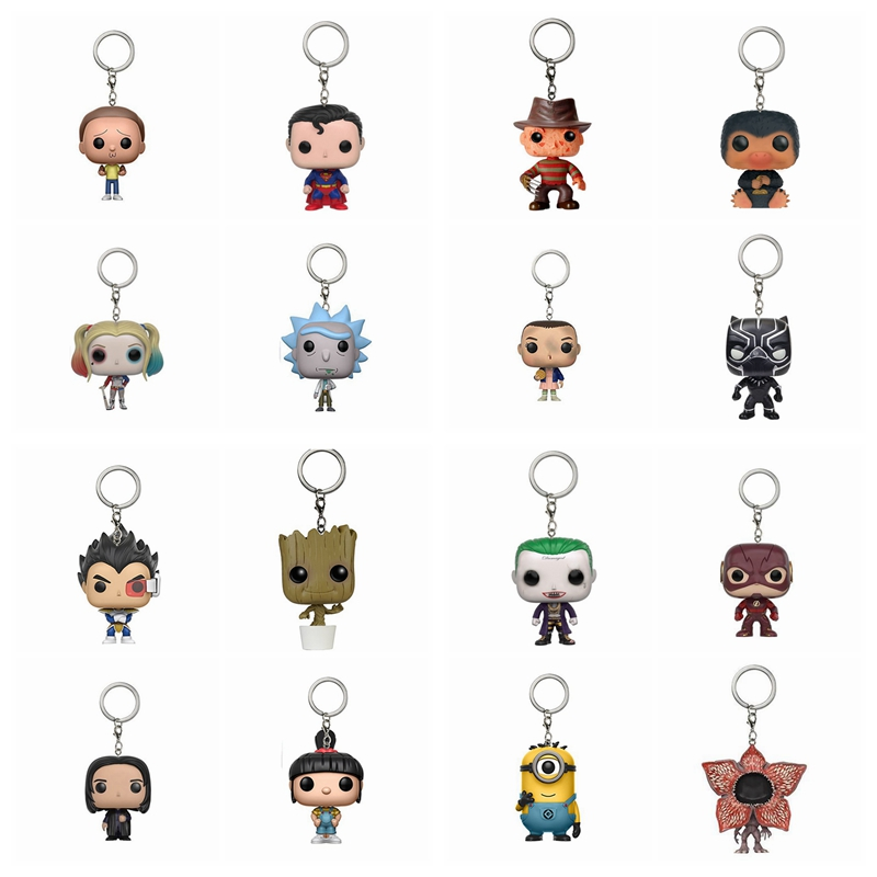Keychain Game of Thrones Harry Potter Suicide Squad Figures Xmas Gift