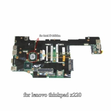 04Y1830 mainboard for Lenovo ThinkPad X220 PC laptop motherboard Intel Core i7-2620M 2.7GHz
