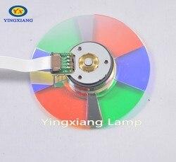 Wysokiej jakości 6 segmentów oryginalny koło kolorów do projektora DP324  DX319