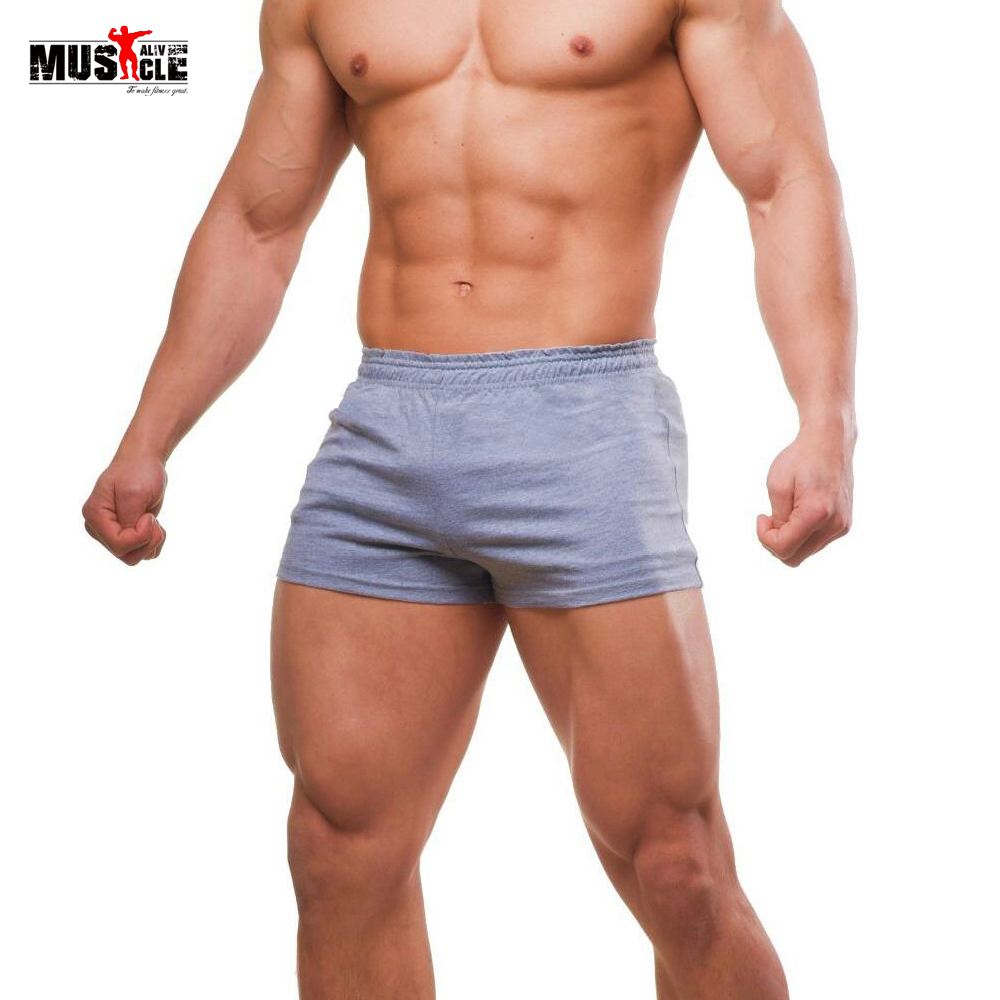 2018 Bodybuilding Shorts Men Fitness Workout For Male -5115