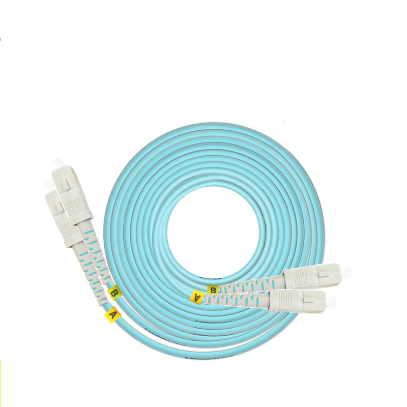 Image 3 - 3m LC SC FC ST UPC OM3 Fiber Optic Patch Cable Duplex Jumper 2 Core Patch Cord Multimode 2.0mm Optical Fiber Patchcord-in Fiber Optic Equipments from Cellphones & Telecommunications