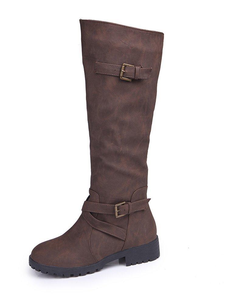 High Qualität Weiche Rutsch Schuhe 03 Hohe 01 Beiläufige Ofenrohr Flache Fashion Frau Martin Stiefel Allgleiches Frauen 04 02 RddxqY