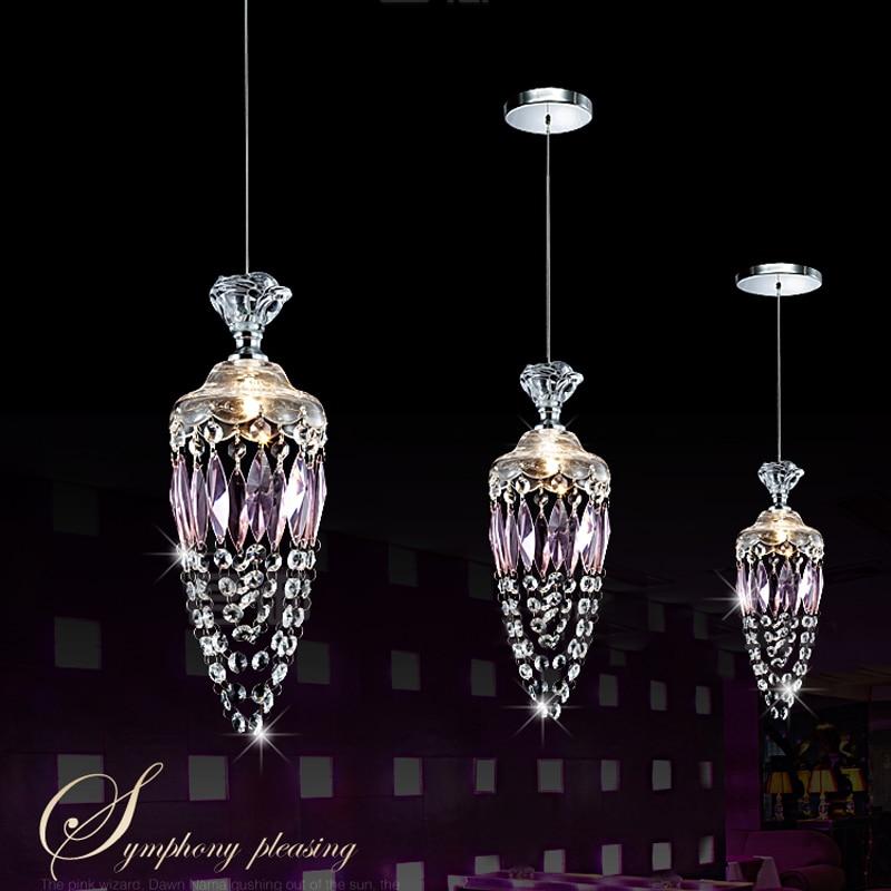 Kitchen Single Pendant Light Crystal Pendant Lamp For