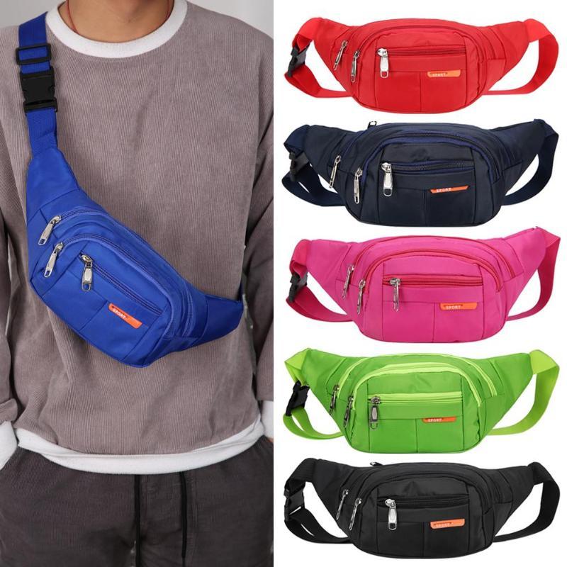 Waterproof Waist Bags Running Fanny Pack Women Waist Pack Pouch Belt Bag Men Phone Pocket Case Camping Hiking Sports Bag
