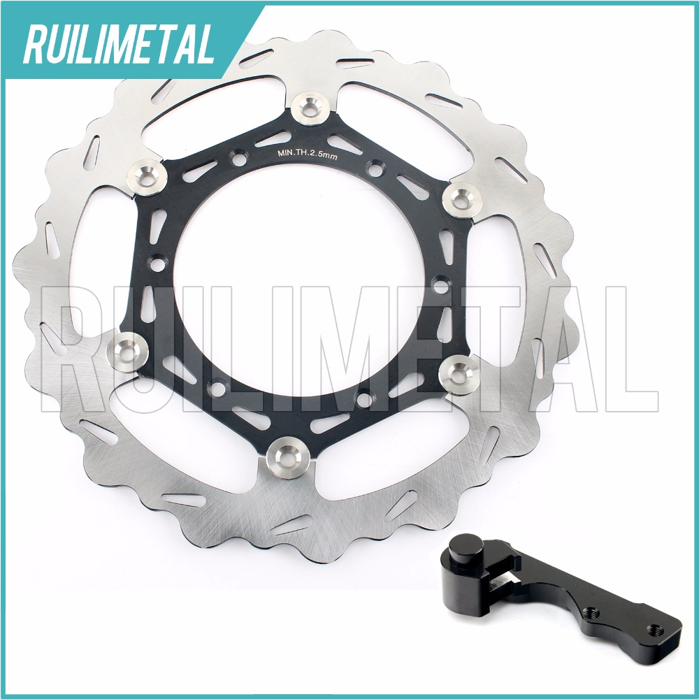 270mm oversize Front Brake Disc Rotor Bracket Adaptor for SUZUKI RM 125 1996-2009 250 DRZ 400 S E 00 01 02 03 04 05 06 07 08 fit for rm 125 00 09 rm250 00 01 02 03 04 05 06 07 08 09 10 11 12 front rear brake disc rotor bracket bracket oversize 320mm