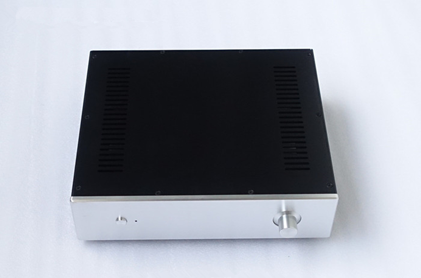 C-022   CNC All Aluminum Chassis Case Box Cabinet for DIY Audio Power Amplifier  360mm*92mm*308mm 360*92*308mm C-022   CNC All Aluminum Chassis Case Box Cabinet for DIY Audio Power Amplifier  360mm*92mm*308mm 360*92*308mm