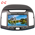 Upgraded Capacitive Screen ! Car DVD Player GPS for  Hyundai Elantra 2011 with Radio SWC BT Mirror Link+Free 8G Map Card