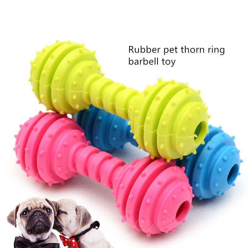 Резиновые Игрушки для маленьких собак, приспособление для чистки зубов, собак и кошек-2