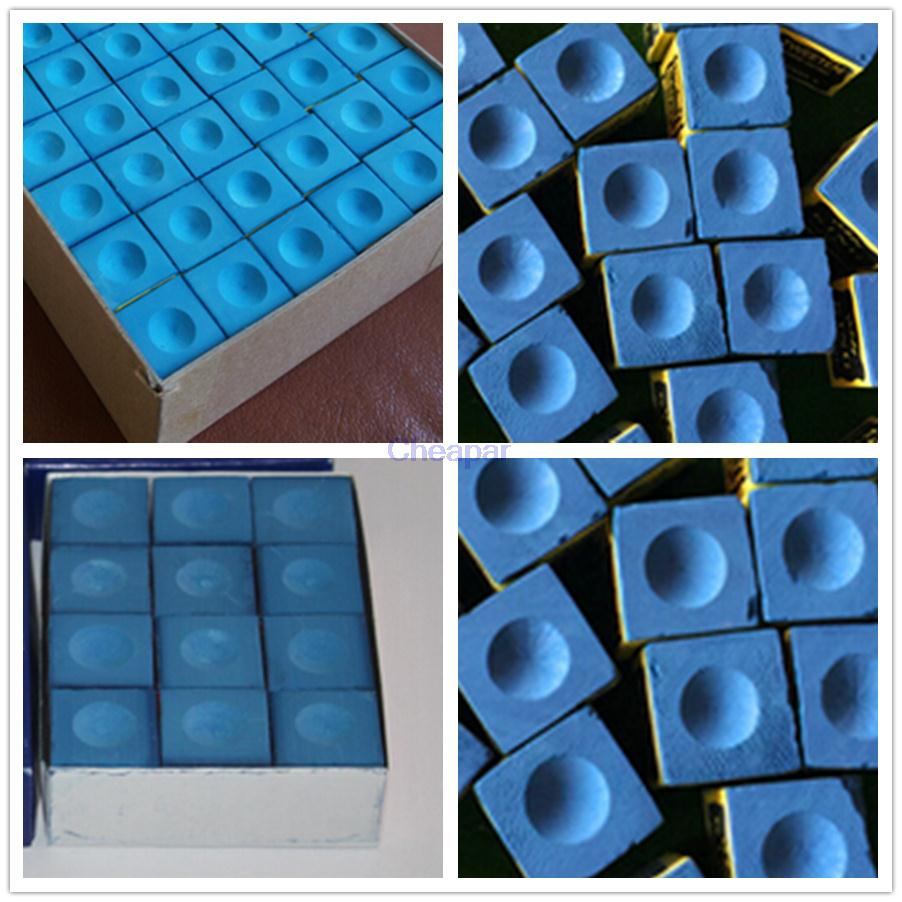 1pcs Chalk for Snooker Pool Billiard Table Cue Tip Blue