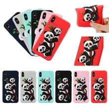 Анти-нуля Панда пропатченный телефон стиль мягкие TPU силиконовый чехол для iPhone 6С 6 7 8 + х хз чехол Коке Капа fundas