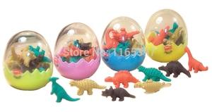 Image 4 - Бесплатная доставка, большой размер, мальчики 50x динозавр, динозавр, тематическая игрушка, набор, вечерние игрушки, подарки, сумка, наполнители для пиньяты, детский ассортимент