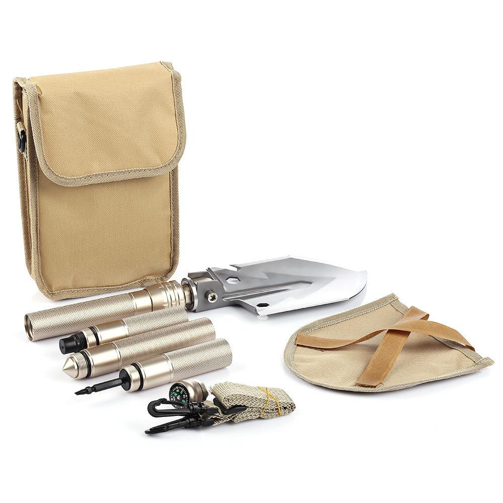 Outdoor Camping Tactical Multifunctional Folding Shovel