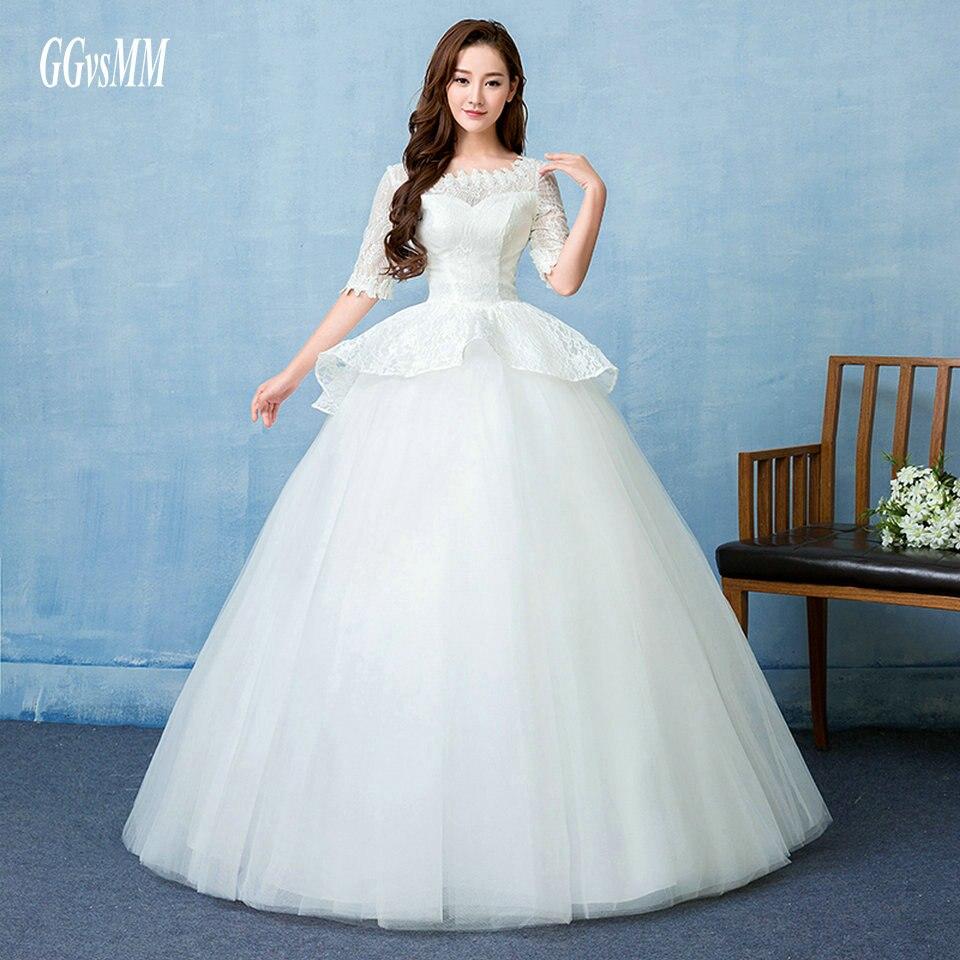 vestido casamento Unique Wedding Gowns Long White 2018 Wedding ...