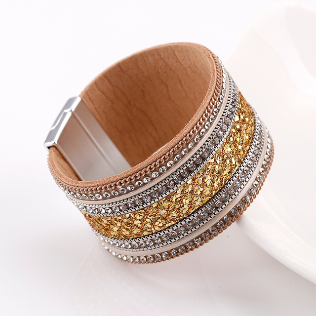 variation of golden colored jewelry product