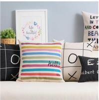 Simple Modern Nordic Children S Plaything Fresh And Lovely Personality Gift Cotton Pillowcase Children S Room