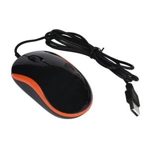 Image 3 - Mosunx Mouse Ottico con cavo 1600DPI 3D USB Nero Mouse Da Gioco Ricaricabile Ufficio di Alta Qualità Mouse per il PC Del Computer Portatile Notebook l0305