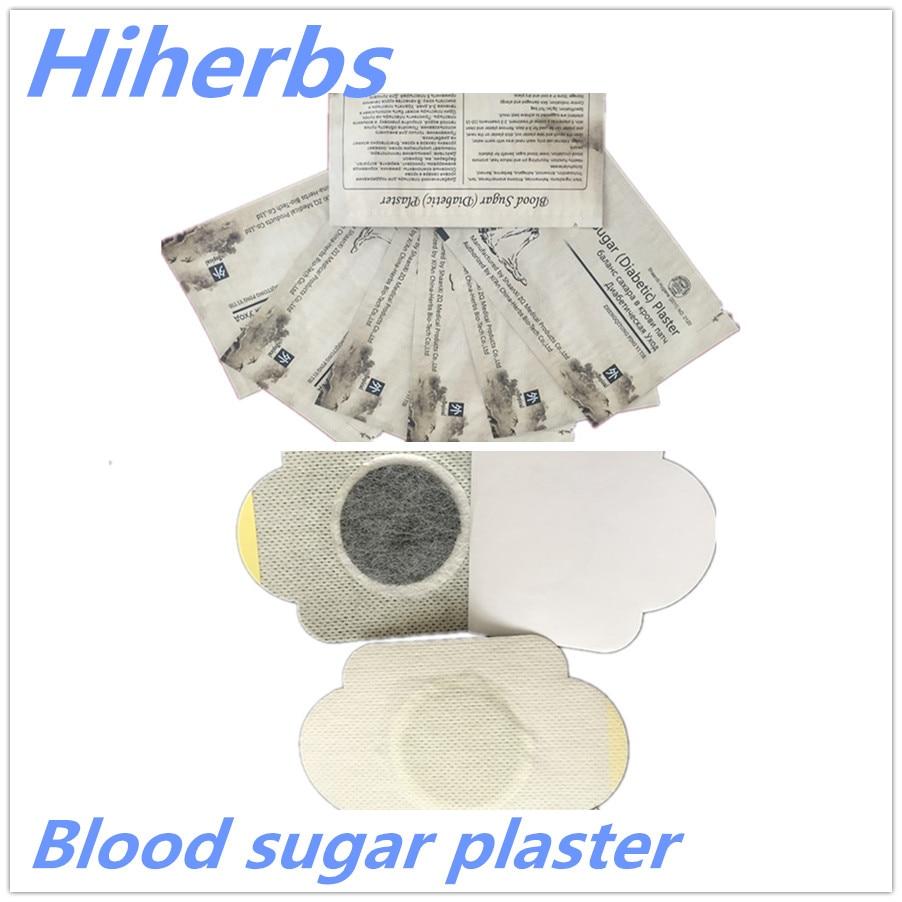 100pcs/Lot anti diabetes cure lower blood glucose diabetic patch blood sugar plaster diabetic patch diabetic plaster russian